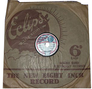 Eclipse Records brought out a special commemorative 78 rpm record for the Silver Jubilee of King George V and Queen Mary in 1935. By special arrangement with Buckingham Palace it featured the Band of H.M. Irish Guards and a Choir of Tonbridge School Children.