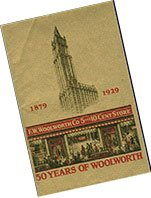 The 50th Anniversary booklet from Woolworths was given out free to customers in 1929