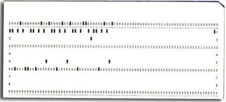 After a while 80-col Punched Cards provided an alternative and more flexible method of inputting data
