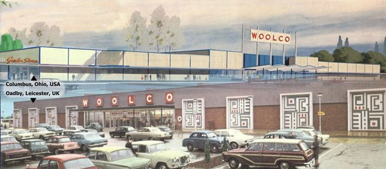 Woolco was a huge new out-of-town store format for F. W. Woolworth born in the 1960s in both the USA and UK.