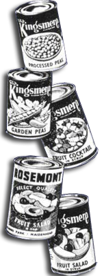 Kingsmere was Woolworth's first attempt at an own brand. The name appeared on many exclusive grocery products in the late 1950s and early 1960s.