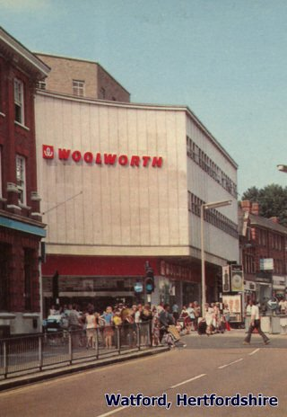 Large city centre Woolworth stores like Watford, Hertfordshire were sacrificed in 1983 to repay the loans to buy out the company