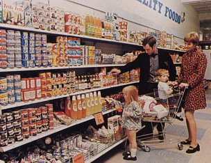 Convenience groceries were a feature in all British Woolworth stores in the 1970s