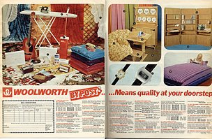 Woolworths by Post - an experimental British mail order service tested in 1973