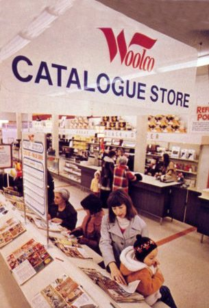 Catalogue Stores in Canada were branded Woolco in the 1970s, while in Britain they were called Shoppers World