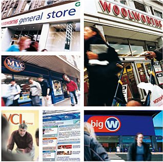 A snapshot of Woolworths Group in August 2001 - one month after demerger. Within three years all but one of the formats would have gone, or been changed beyond recognition
