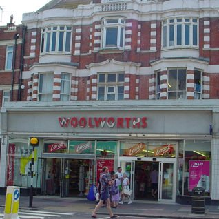 Smaller Woolworth stores like Bexhill-on-Sea in Sussex had traditionally contributed the lion's share of company profits. Cutbacks left the buildings looking shabby and unloved