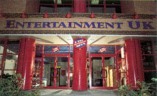 The Entertainment UK Ltd headquarters in Hayes, Middx. For 20 years EUK was the largest music and video wholesaler in Europe