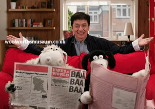 Legendary superstar Jackie Chan meets Wooly and Worth.  Expensive? It was WorthIt!