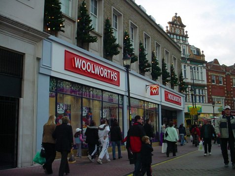 The large Woolworths store in Market Place, Kingston-Upon-Thames, South West London, was transformed from one the chain's worst to the very best in October 2003