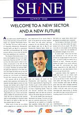A new magazine 'Shine' for the planned 'GM plc' featured a smiling Jim Glover as a centrepiece. He had enjoyed considerable success in reviving the value credential of Woolworths as Commercial Director before taking on the MD role at Superdrug