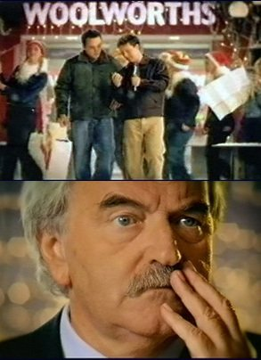 "The Woolworth ""Don't forget what you went in for"" campaign from 2001. More customers remembered Des Lynam's moustache than the Alcatel Phone given the hard sell by Ant and Dec"