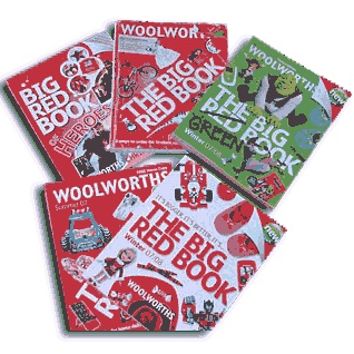 The Big Red Book, a 6,000 product catalogue launched in the Autumn of 2006, saw Woolworths going head-to-head with Argos