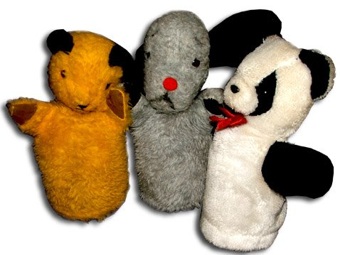 Sooty, Sweep and Soo - the popular puppets that took Harry Corbett to stardom and also helped secure a new future for the Chad Valley toy company