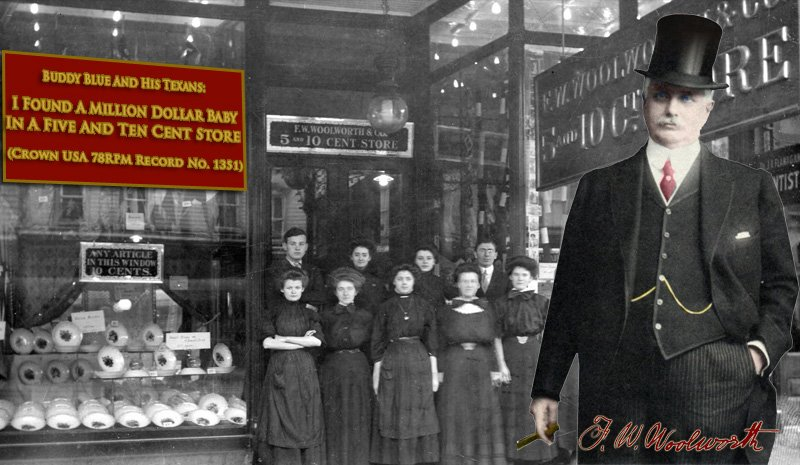 Frank W. Woolworth and his Million Dollar Baby - the 5 & 10 ¢ Store