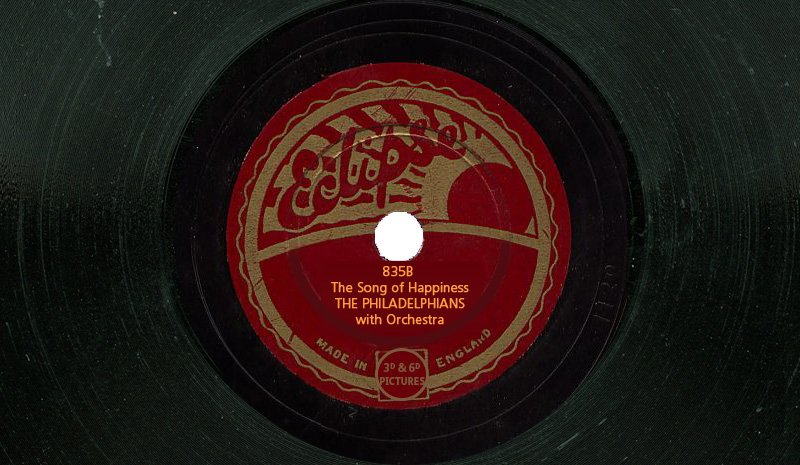 Eclipse Records 835B - Sing the Song of Happiness