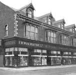 The original Woolworth store in Linthorpe Road, Middlesbrough (Middlesborough), which opened in the Autumn of 1911