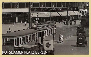 The F. W. Woolworth store in Potsdamer Platz, Berlin, shortly before the oubtreak of World War II