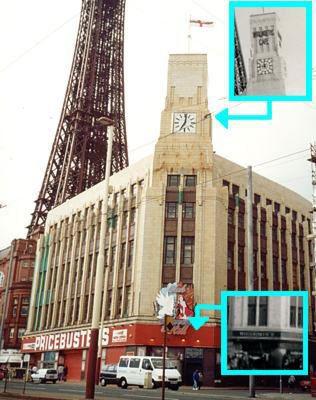 The iconic art deco Woolworth store on the seafront at Blackpool was one of the first to be sold for redevelopment by the chain's new owners, closing its doors in 1984. In the late 1990s it was replaced by a much ordinary building a few doors along the seafront.