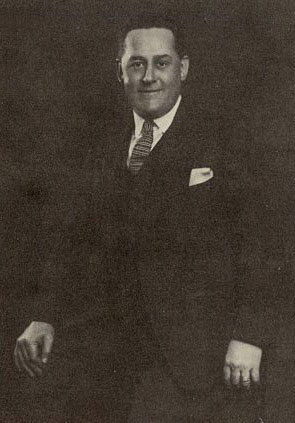 John Ben Snow, one of the principal architects of the British Woolworths and Buying Director for many years - pictured in around 1920