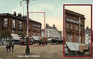 Owen Owen's premises in London Road Liverpool, 1909, which became the site for F.W. Woolworth's second store