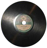 Little Marvel Gramophone Records like this one were produced for F. W. Woolworth by the Vocalion Gramophone Record Company between 1921 and 1928