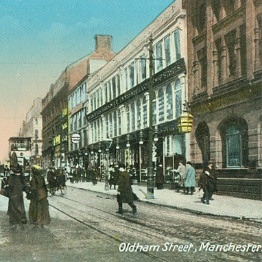 Manchester's first Woolworths opened in Oldham Street, Manchester in 1910 - Britain's fourth Woolies