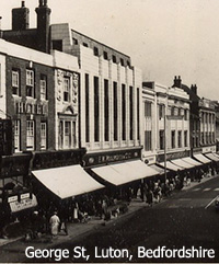 The flagship Woolworth store in George Street, Luton (No. 52), pictured in the early 1950s