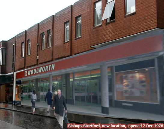 A huge new Woolworth's opened in Bishops Stortford, Hertfordshire, UK on 7 December 1978. It retained the branch original branch number 316.