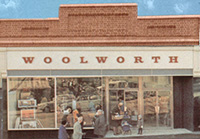 The original F.W. Woolworth store in Bishops Stortford (No. 316), which had opened its doors in June 1928 and had been repeatedly extended to cope with the volume of business