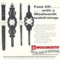 Time for a change?  Winfield watchstraps from Woolworth's (for all kinds of everything)