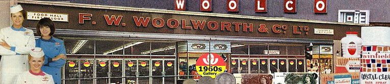 A double new look for Woolworths in Leicester in the heart of England - a new superstore in the City Centre at Gallowtree Gate and one of Britain's first out of town superstores, Woolco at Oadby