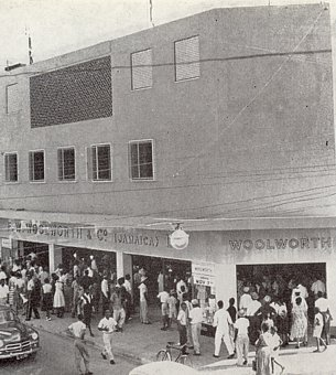A third Woolworths for Jamaica, which opened in the late 1950s in St James Street, Montego Bay