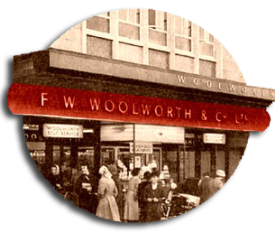 A new store opening in the 1950s - this one is New Washington in Tyne and Wear