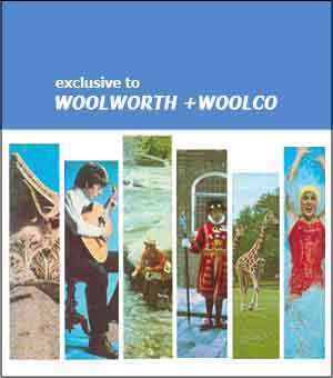 The back cover of every project book explained that the series was sold exclusively in Woolworth in Woolco stores