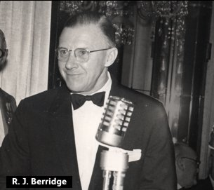 Reginald John Berridge, Chairman of F.W. Woolworth UK at the height of its success in 1959