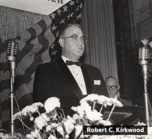 Robert C Kirkwood who led a revolution at Woolworth's in the late 1950s and 1960s as worldwide President