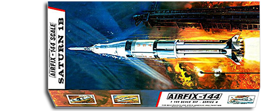 Airfix models of the Saturn rockets being prepared for the moon landing were among Woolworth's most successful toys in the late 1960s and early 1970s