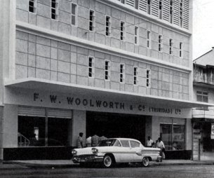 The second Woolworths store in Trinidad, which opened in San Fernando in 1958