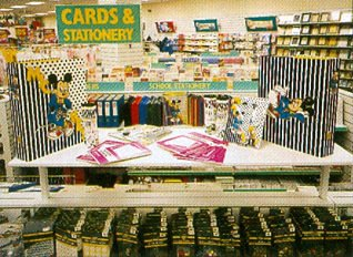 The new look stationery range in 1985/6