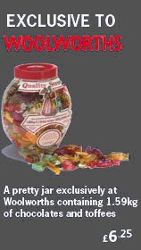 An exclusive jar of Quality Street from Woolworths' 1985 range