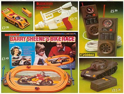 Battery operated and electronic toys were very popular in the late 1970s at Woolworth's