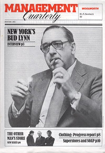 Budd Lynn, the Deputy Chairman of F.W. Woolworth Co. in the late 1970s and early 1980s