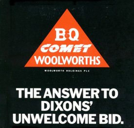 The Woolworth Holdings Defence document set out the case against the Dixons takeover bid