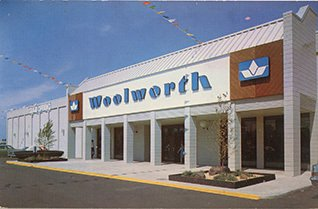 An American Woolworth store from the 1970s - Hibbing, Minnesota