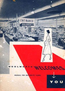 A 1950s booklet explaining the role of sales assistants in F. W. Woolworth's new self-service stores in the USA