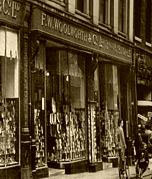 Whitefriargate Hull, the sixth British Woolworths, which opened in the Spring 1911