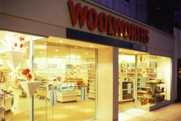 Woolworths Weekend at High Street, Uxbridge - the Weekend suffix was dropped but many of the other ideas inspired the revitalisation of much of the chain in the late 1980s