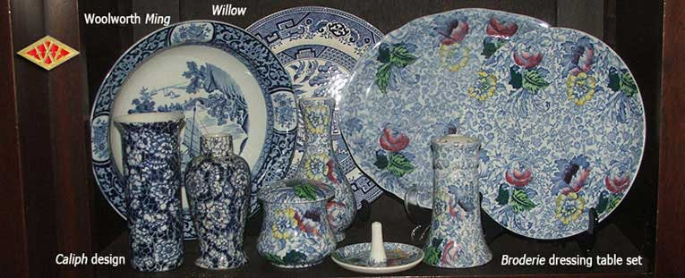 Woolworth China patterns from the early 20th century