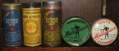 Meltonian Dubbing, Shoe Polish and Shoe Whitener all featured on the shelves of Woolworths for more than ninety years